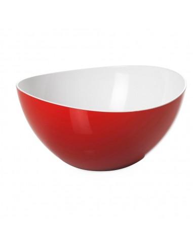 Insalatiera Trendy bicolore 1,5 litri-Rossa