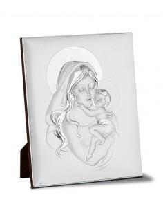 Madonna con bambino in argento PD201