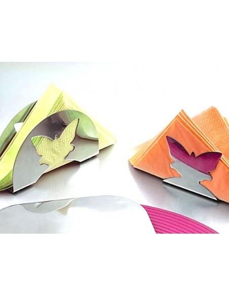 Usi del Portatovaglioli farfalla Brandani-58837