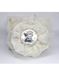 Capoculla argento Tondo avorio PR6021