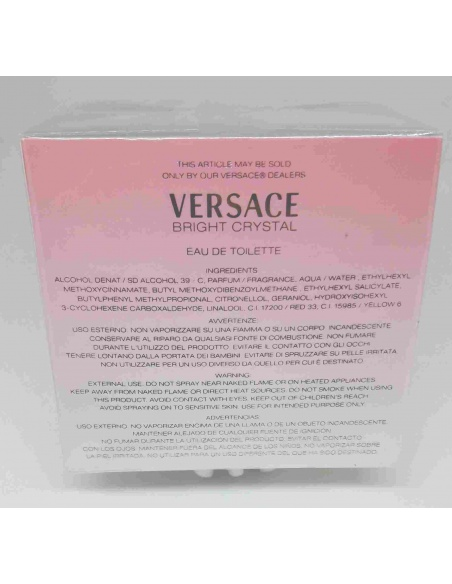 Versace Bright Crystal Edt 50 ml-vista posteriore