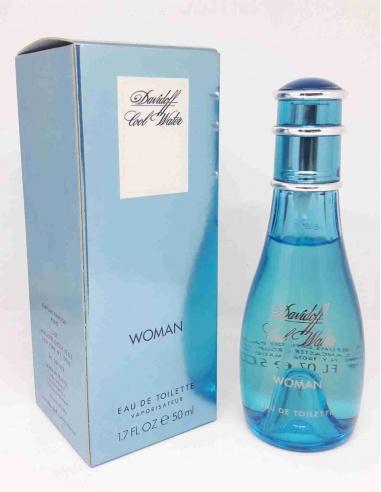 Davidoff Cool Water Edt 50 ml Donna