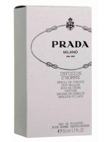 Prada Infusion D'Homme edt 50 ml-scatolo