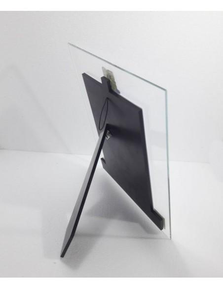 Portafoto cristallo 50° Anniversario parte anteriore-Vista posteriore