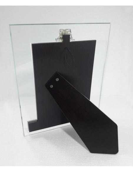 Portafoto cristallo 50° Anniversario parte anteriore-Vista posteriore-B