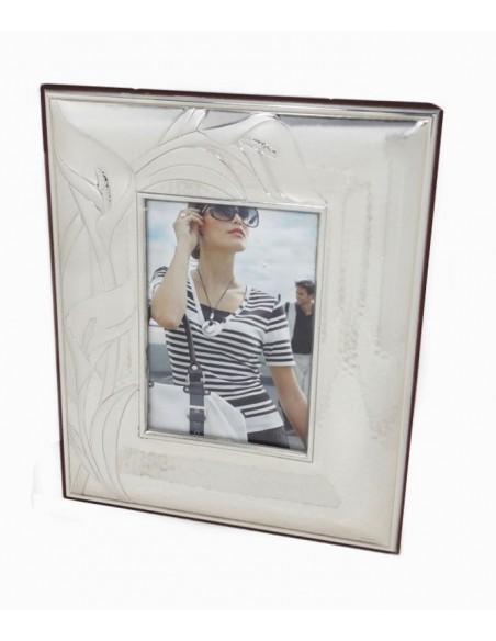 Portafoto in argento piccola con Calle PF720/3 -A
