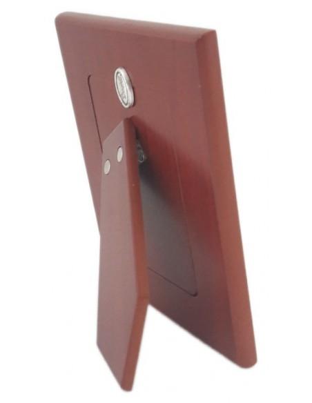 Cornice Portafoto in argento Girasoli 12x15-Vista posteriore