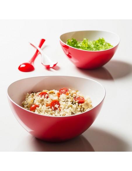 Usi dell'insalatiera bicolore Trendy da 3,5 LT