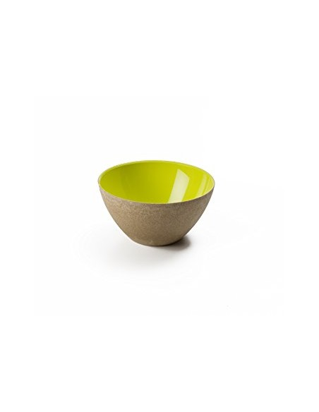 Ciotola colorata Verde Acido Ecoliving 30 cl. diam.11,5 cm, ecosostenibile