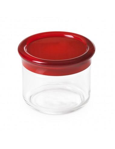 Barattolo vetro 50 cl Trendy-Rosso