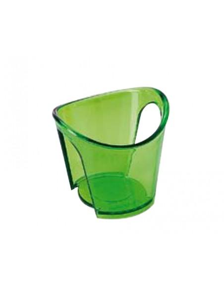 Reggibicchiere acqua Happy Drink verde