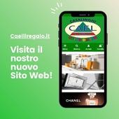 Il nostro nuovo sito web è finalmente online! Vieni a scoprire i nostri prodotti su caelilregalo.it!  #sitoweb #casa #cucina #profumi